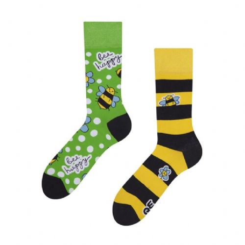 Good Mood | Adult Regular Socks | Bee Happy